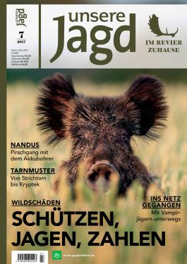 unsere Jagd Cover 7/2017