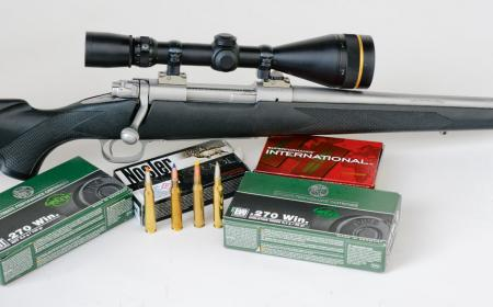 Die Winchester 70 Classic des Verfassers in .270 Winchester.